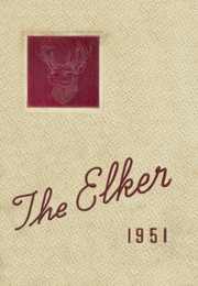 Ridgway High School - Elker Yearbook (Ridgway, PA) online yearbook collection, 1951 Edition, Page 1