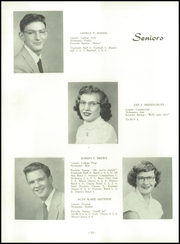 Page 16, 1954 Edition, Ridgway High School - Elker Yearbook (Ridgway, PA) online yearbook collection
