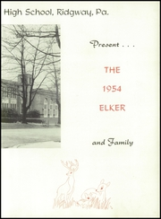 Page 7, 1954 Edition, Ridgway High School - Elker Yearbook (Ridgway, PA) online yearbook collection