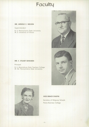 Page 12, 1955 Edition, Ridgway High School - Elker Yearbook (Ridgway, PA) online yearbook collection
