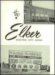 Page 6, 1957 Edition, Ridgway High School - Elker Yearbook (Ridgway, PA) online yearbook collection