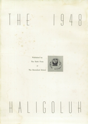 Page 5, 1948 Edition, Haverford School - Haligoluk Yearbook (Havertown, PA) online yearbook collection
