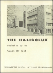 Page 5, 1955 Edition, Haverford School - Haligoluk Yearbook (Havertown, PA) online yearbook collection