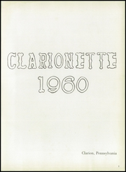 Page 5, 1960 Edition, Clarion Area High School - Clarionette Yearbook (Clarion, PA) online yearbook collection