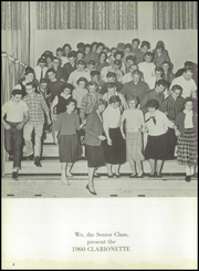 Page 8, 1960 Edition, Clarion Area High School - Clarionette Yearbook (Clarion, PA) online yearbook collection