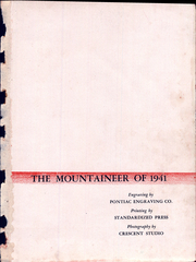 Page 5, 1941 Edition, Ligonier Valley High School - Mountaineer Yearbook (Ligonier, PA) online yearbook collection
