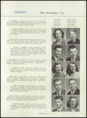 Page 17, 1946 Edition, Ligonier Valley High School - Mountaineer Yearbook (Ligonier, PA) online yearbook collection