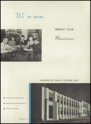 Page 5, 1946 Edition, Ligonier Valley High School - Mountaineer Yearbook (Ligonier, PA) online yearbook collection
