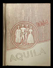 1954 Edition, Youngsville High School - Aquila Yearbook (Youngsville, PA)