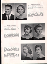 Page 15, 1958 Edition, Exeter Township Senior High School - Pioneer Yearbook (Reading, PA) online yearbook collection