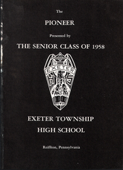Page 5, 1958 Edition, Exeter Township Senior High School - Pioneer Yearbook (Reading, PA) online yearbook collection