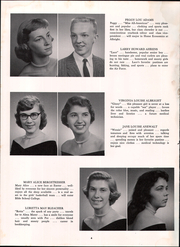 Page 8, 1958 Edition, Exeter Township Senior High School - Pioneer Yearbook (Reading, PA) online yearbook collection