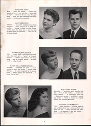 Page 9, 1958 Edition, Exeter Township Senior High School - Pioneer Yearbook (Reading, PA) online yearbook collection
