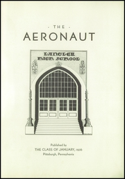 Page 5, 1936 Edition, Langley High School - Aeronaut Yearbook (Pittsburgh, PA) online yearbook collection