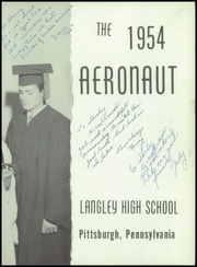 Page 7, 1954 Edition, Langley High School - Aeronaut Yearbook (Pittsburgh, PA) online yearbook collection