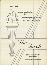 Page 16, 1968 Edition, Blue Ridge High School - Torch Yearbook (New Milford, PA) online yearbook collection