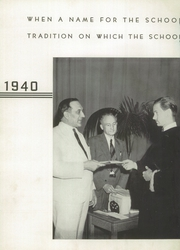 Page 6, 1940 Edition, Conemaugh Township Area High School - Connumach Yearbook (Davidsville, PA) online yearbook collection