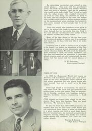 Page 12, 1952 Edition, Conemaugh Township Area High School - Connumach Yearbook (Davidsville, PA) online yearbook collection