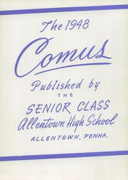 Page 7, 1948 Edition, Allen High School - People Yearbook (Allentown, PA) online yearbook collection
