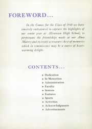 Page 8, 1948 Edition, Allen High School - People Yearbook (Allentown, PA) online yearbook collection