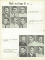 Page 12, 1957 Edition, St John Neumann High School - Crystal Yearbook (Philadelphia, PA) online yearbook collection