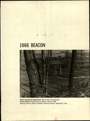 Page 5, 1966 Edition, Bethel Park High School - Beacon Yearbook (Bethel Park, PA) online yearbook collection