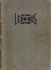 New Holland High School - Leoninus Yearbook (New Holland, PA) online yearbook collection, 1939 Edition, Page 1