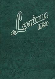 Page 1, 1950 Edition, New Holland High School - Leoninus Yearbook (New Holland, PA) online yearbook collection