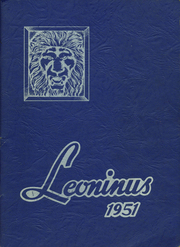 Page 1, 1951 Edition, New Holland High School - Leoninus Yearbook (New Holland, PA) online yearbook collection