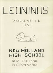 Page 3, 1951 Edition, New Holland High School - Leoninus Yearbook (New Holland, PA) online yearbook collection