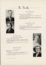 Page 14, 1954 Edition, New Holland High School - Leoninus Yearbook (New Holland, PA) online yearbook collection