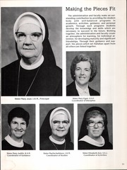 Page 15, 1985 Edition, Catholic High School For Girls - Silver Sands Yearbook (Philadelphia, PA) online yearbook collection