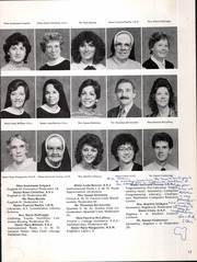 Page 17, 1985 Edition, Catholic High School For Girls - Silver Sands Yearbook (Philadelphia, PA) online yearbook collection