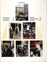Page 7, 1985 Edition, Catholic High School For Girls - Silver Sands Yearbook (Philadelphia, PA) online yearbook collection