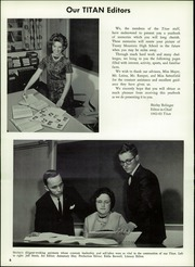Page 10, 1963 Edition, Tussey Mountain High School - Titan Yearbook (Saxton, PA) online yearbook collection
