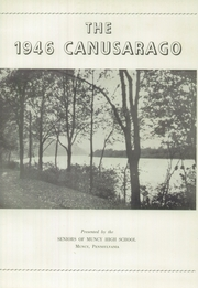 Page 5, 1946 Edition, Muncy High School - Canusarago Yearbook (Muncy, PA) online yearbook collection