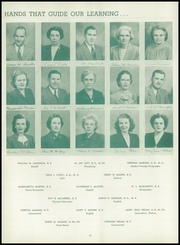 Page 16, 1949 Edition, Washington High School - Little Prexie Yearbook (Washington, PA) online yearbook collection