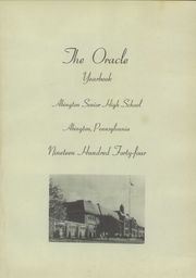 Page 5, 1944 Edition, Abington High School - Oracle Yearbook (Abington, PA) online yearbook collection