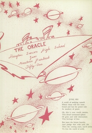 Page 7, 1951 Edition, Abington High School - Oracle Yearbook (Abington, PA) online yearbook collection