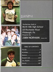 Page 5, 1984 Edition, North Hills High School - Norhian Yearbook (Pittsburgh, PA) online yearbook collection