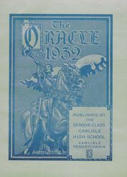 Page 9, 1932 Edition, Carlisle High School - Oracle Yearbook (Carlisle, PA) online yearbook collection