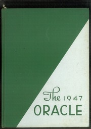 Carlisle High School - Oracle Yearbook (Carlisle, PA) online yearbook collection, 1947 Edition, Page 1