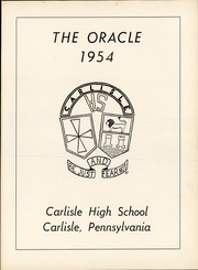 Page 3, 1954 Edition, Carlisle High School - Oracle Yearbook (Carlisle, PA) online yearbook collection