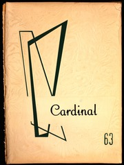 1963 Edition, Pine Grove High School - Cardinal Yearbook (Pine Grove, PA)