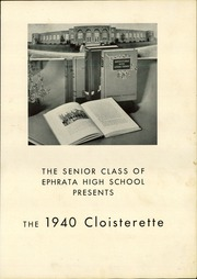 Page 5, 1940 Edition, Ephrata High School - Cloisterette Yearbook (Ephrata, PA) online yearbook collection