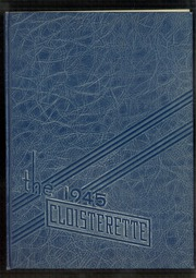 1945 Edition, Ephrata High School - Cloisterette Yearbook (Ephrata, PA)