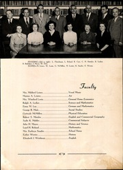 Page 11, 1951 Edition, Ephrata High School - Cloisterette Yearbook (Ephrata, PA) online yearbook collection