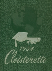 1954 Edition, Ephrata High School - Cloisterette Yearbook (Ephrata, PA)