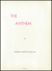 Page 7, 1944 Edition, Brentwood High School - Anthem Yearbook (Pittsburgh, PA) online yearbook collection