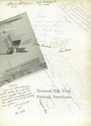 Page 3, 1958 Edition, Brentwood High School - Anthem Yearbook (Pittsburgh, PA) online yearbook collection